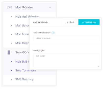 E-Mail SMS Entegrasyonu